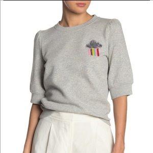 Kate Spade Rain or Shine Pullover Sweatshirt M NWT
